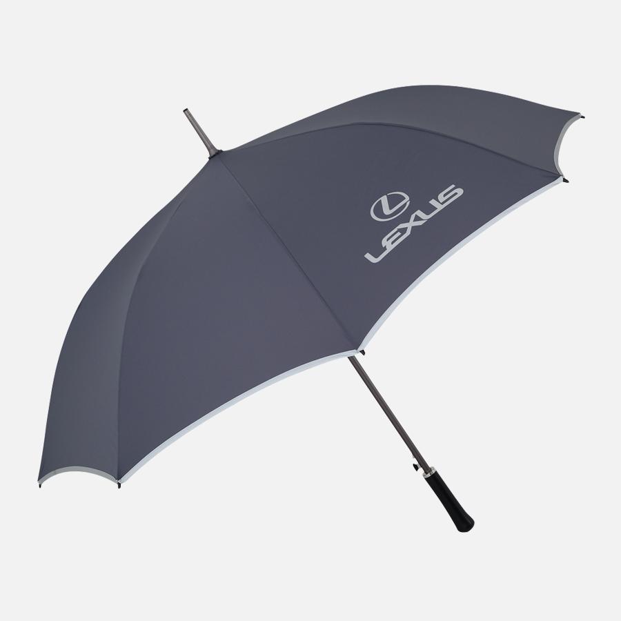 灰色單層防風傘 VINTAGE真皮鑰匙包  LEXUS精品藝廊